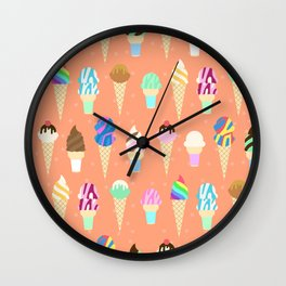 Stardust Sorbet Wall Clock