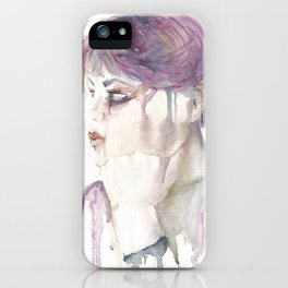 Simply Falling iPhone Case