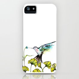 Be Still Wings, So I Can Always Remember You This Way iPhone Case