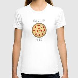 Circle of Life ... Pizza T-shirt