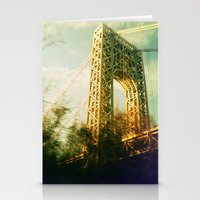 bridge Stationery Cards featuring Bridge by Claire Beaufort