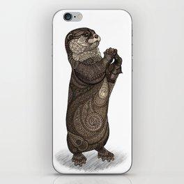 Infatuated Otter iPhone Skin