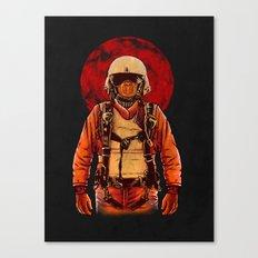 parachutist Canvas Print