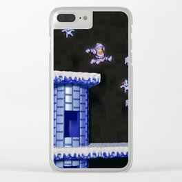 Inside Ghosts 'n' Goblins Clear iPhone Case