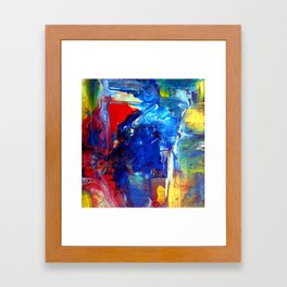 Traces of Jazz 3 Framed Art Print