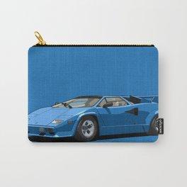 Lamborghini Countach 5000QV Blu Tahiti (US spec) Carry-All Pouch