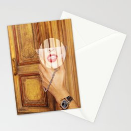 Mouth to mouth Stationery Cards