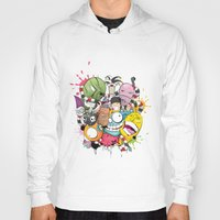 doodle Hoodies featuring Doodle by Flavio Augusto Maidl