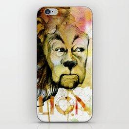 Cowardly iPhone Skin