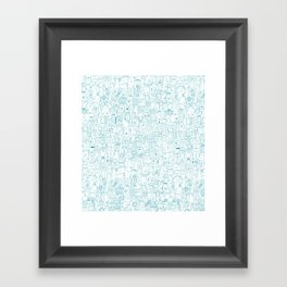 The farmer Framed Art Print