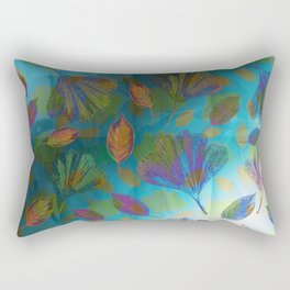 Ginkgo Leaves Under Water Rectangular Pillow