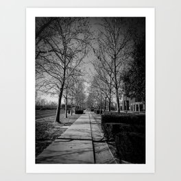 Far & Between Art Print