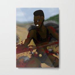 Zula G Metal Print