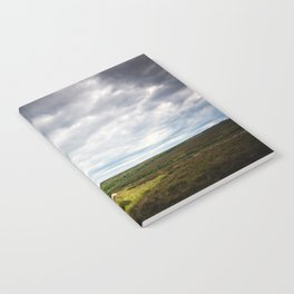 Sheep grazing in North Yorkshire Notebook