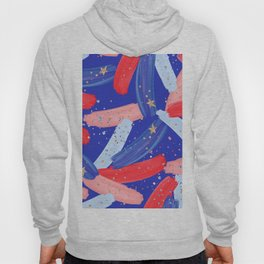 Watercolor Fourth of July Hoody