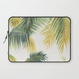 Tropical Palm Leaves Laptop Sleeve