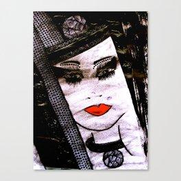 Miss Magic tetkaART Canvas Print