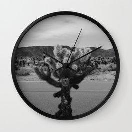 Cholla Cactus Garden XVII Wall Clock