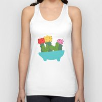 cacti Tank Tops featuring cute cacti by Berlyn Hubler