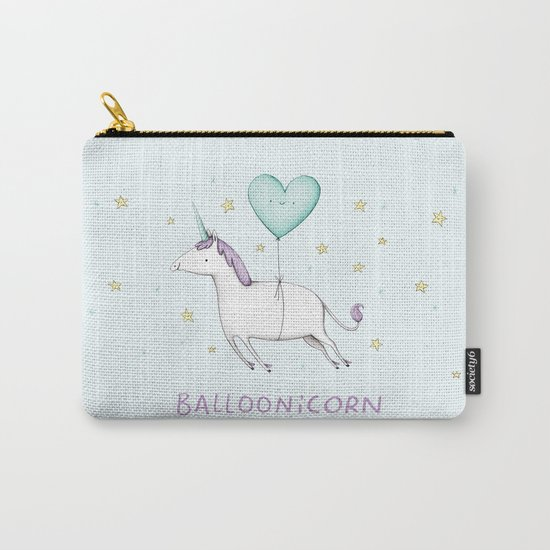 Balloonicorn Carry-All Pouch