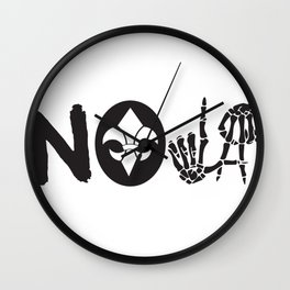 TO LIVE OR DIE IN NEW ORLEANS Wall Clock