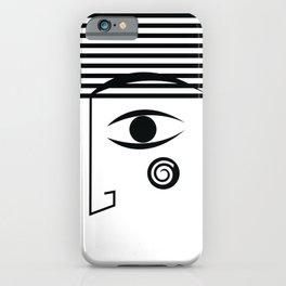 Line face iPhone Case
