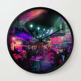 Tunes of the Night Wall Clock
