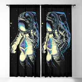 Space Ethereum Blackout Curtain