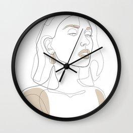 Sun-Kissed Wall Clock