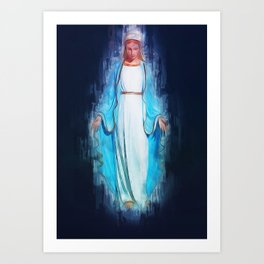 The Virgin Mary Art Print