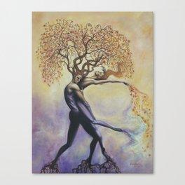 Soul Tangle Canvas Print