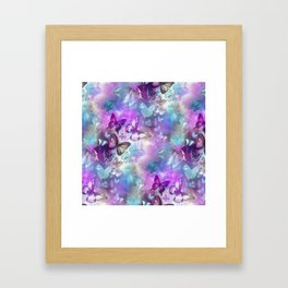 Butterflies Dreaming Framed Art Print