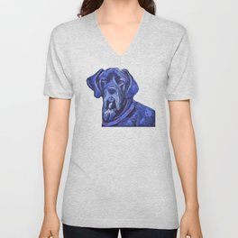 Great Dane Unisex V-Neck