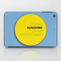 eternal sunshine iPad Cases featuring Eternal Sunshine of the Spotless Mind by kirstenariel