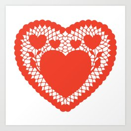 You pull on my heart strings Art Print