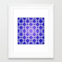 1d Framed Art Prints featuring Pattern 1D by Robin Curtiss