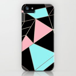 Abstraction . 5 geometric pattern iPhone Case
