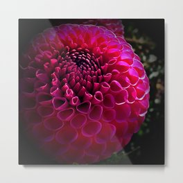 Purple Delilah Metal Print