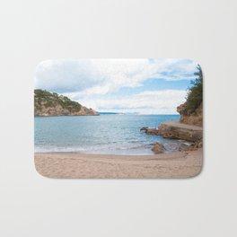 Summer landscapes around Costa Brava, impressive beachs and coastlines. Bath Mat
