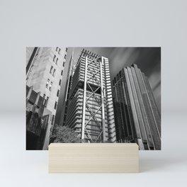 Three Towers / Three Styles Mini Art Print