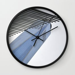 Towering Over Wall Clock