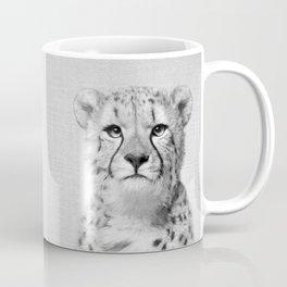 Cheetah - Black & White Coffee Mug