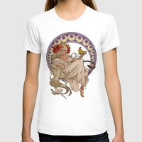 mucha T-shirts featuring Mucha Homage by Muy-Mal