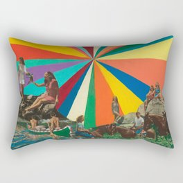 Summer Vacation Rectangular Pillow