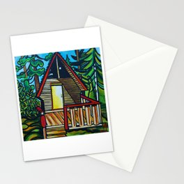 Ruby Lake Cabin Stationery Cards