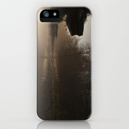 Foggy Morning in the Forest iPhone Case