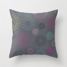 flower pattern  Throw Pillow