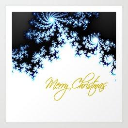Merry Christmas, The Star of Bethleham Will Lead Them Art Print