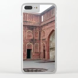 Red Fort Clear iPhone Case