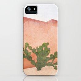 Strong Desert Cactus iPhone Case